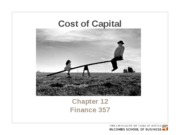 Chapter 12. Cost of capital