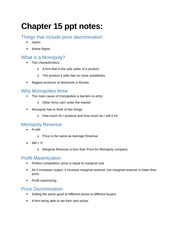 Chapter 15 ppt notes