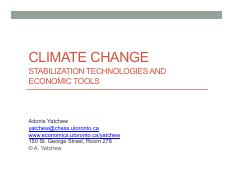 5 Climate Change, Stabilization Technologies and Economic Tools(1).pdf