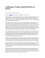 Challenges Facing Capital Markets in Kenya.docx