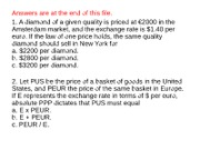 Chapter_11_Prices_and_Exchange_Rates_Q_A