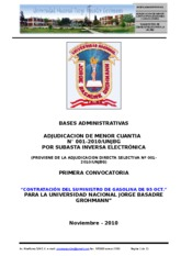 BASES ADMINISTRATIVAS COMBUSTIBLE