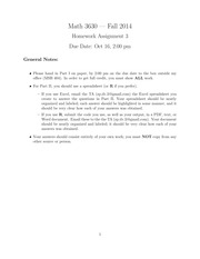 3630-Assignment3Solutions(1)
