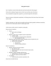 Study guide for Quiz 1 Spring 2016