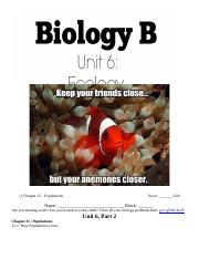Ecology Packet - Part 2