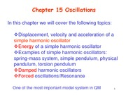 Chapter15 Oscillations