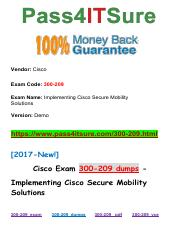 New Pass4itsure Cisco-300-209 Dumps PDF.pdf