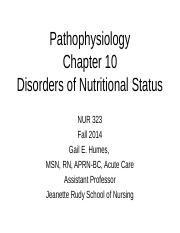 NUR323Chapter10STUDENTCOPY-2.ppt