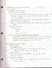 Lecture 8 Notes-History and Structure of Congress