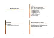 Lecture 10 - Priority Queue and Heap - 4 slides per page