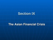 301-9 Asian Financial Crisis