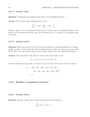 Fund Quantum Mechanics Lect & HW Solutions 66
