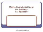 Day 1 Basic Arrhythmia Course revised