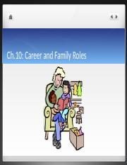 Ch.10 Career and Family Roles