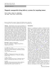 Drug delivery_magnetic nanoparticle_review_2014