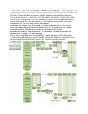 Swim Lane Process Map Case Study Docx The Swim Lane