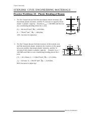 Prac Prob 10 - Plastic beam behaviour.pdf
