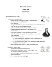 POLS TEST 206 1 REVIEW ANSWERS word.docx