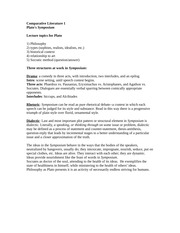 symposium plato essay questions