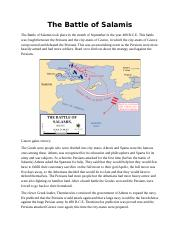 The Battle of Salamis.docx
