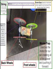Mouse Trap Car Presentation Updated