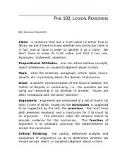 PHIL 1019 - key_logical_terms.doc