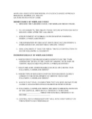 CLET 3826 MVA Lecture Study Guide