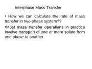 lecture_interphase_mass_Transfer