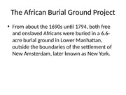 AAS 100: african burial ground project-1