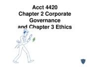 Acct 4420 Chapters 2 and 3 new