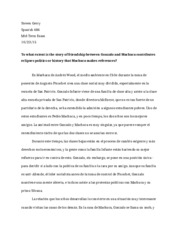 machuca essay steven gerry span essay andrs wood s film  6 pages midterm 1 essays spanish