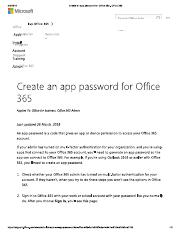 Create an app password for Office 365 - Office 365.pdf