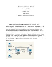 Planning and Implementing a Network_Unit5_IP