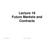 Lecture 18_FUTURES