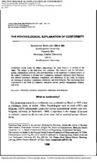 THE PSYCHOLOGICAL EXPLANATION OF CONFORMITY.pdf