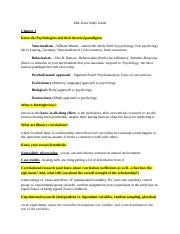 Psychology 1000 Mid-Term Study Guide.doc