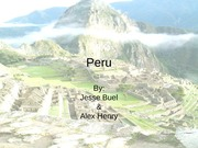 FINISHED PERU POWERPOINT