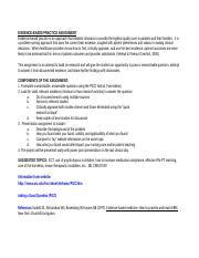 Homework Assignment #2 - Homework Assignment#2 Case Study ...