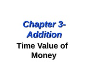 Lect 3 - Addition to Chapter 3 - Time Value of Money (1) (1)