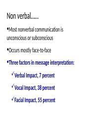 LECTURE ON NON VERBAL COMM.ppt