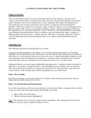A1 Case Study Guidelines(1)
