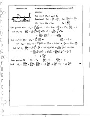 1390_Mechanics Homework Mechanics of Materials Solution