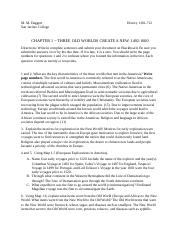 Hist. 1301 Chapter 1(1) x