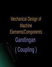 247122437-Mechanical-Design-of-Machine-Elements-coupling.ppt