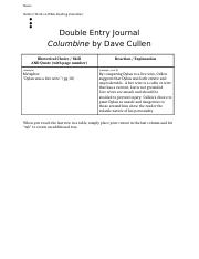 Double Entry Journals - Columbine (Last Name).docx