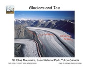 17 annotated ice and glaciers