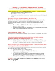 Chapter 2 Coordinated Management of Meaning Worksheet