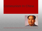 Communism In China Powerpoint