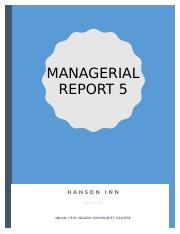Managerial Report 5.docx