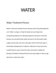 Water Treatment Process.docx